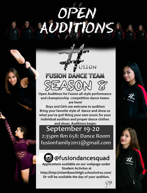 Fusion Auditions