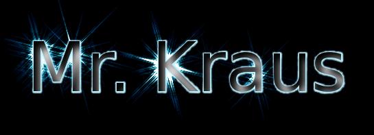 Mr. Kraus's Page