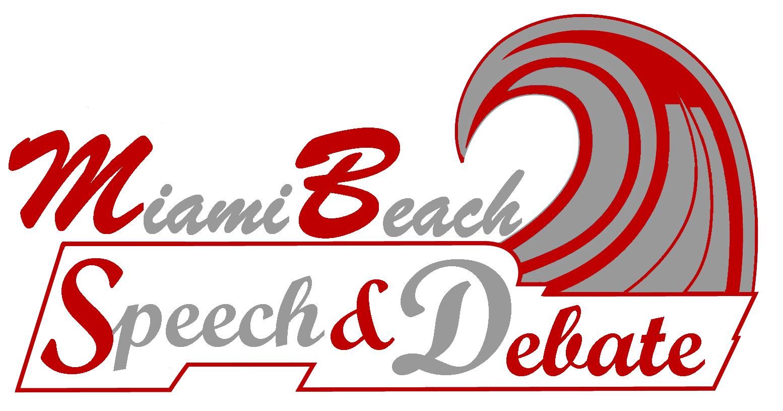 Speech and Debate team logo